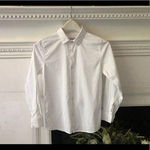 Zara textured weave shirt